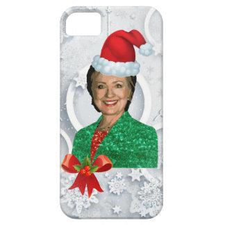 Capa Barely There Para iPhone 5 xmas Hillary clinton