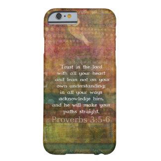 Capa Barely There Para iPhone 6 3:5 dos provérbio - citações de 6 bíblias sobre a