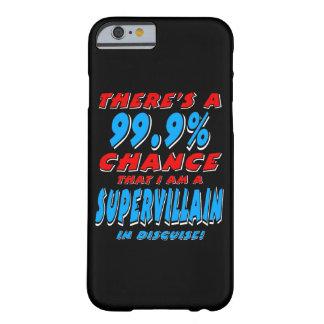 Capa Barely There Para iPhone 6 99,9% Eu sou um BANDIDO SUPER (branco)