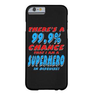 Capa Barely There Para iPhone 6 99,9% Eu sou um SUPER-HERÓI (branco)