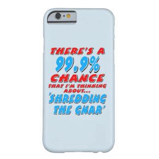 Capa Barely There Para iPhone 6 99,9% SHREDDING O GNAR (preto)