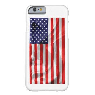 Capa Barely There Para iPhone 6 A bandeira dos Estados Unidos da América