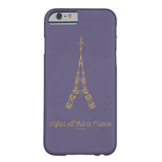 Capa Barely There Para iPhone 6 A beleza e o animal | afinal isto são France