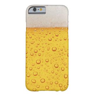 Capa Barely There Para iPhone 6 A cerveja borbulha caso engraçado do iPhone 6/6s