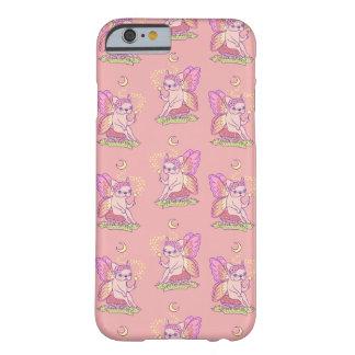 Capa Barely There Para iPhone 6 A fada bonito de Frenchie está moldando um período