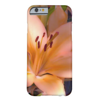 Capa Barely There Para iPhone 6 A - Lírio alaranjado protegido bonito
