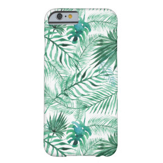 Capa Barely There Para iPhone 6 A palmeira tropical sae do caso do iPhone 6 do