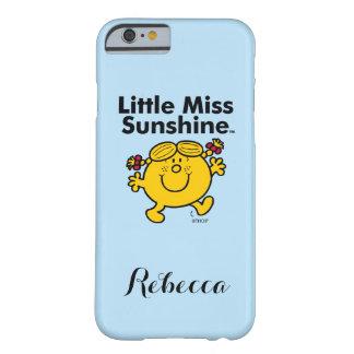 Capa Barely There Para iPhone 6 A senhorita pequena pequena Luz do sol da