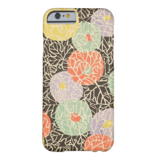 Capa Barely There Para iPhone 6 Abstrato retro do japonês floral