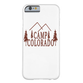 Capa Barely There Para iPhone 6 Acampamento Colorado