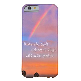 """Capa Barely There Para iPhone 6 """"Acredite"""" na foto mágica do nascer do sol do"""