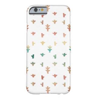 Capa Barely There Para iPhone 6 Aguarelas bonitas do abstrato do primavera