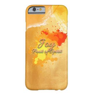 Capa Barely There Para iPhone 6 Alegria, fruta do espírito