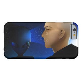 Capa Barely There Para iPhone 6 Alienígena de espaço