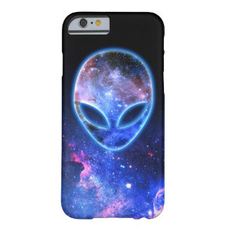 Capa Barely There Para iPhone 6 Alienígena no espaço