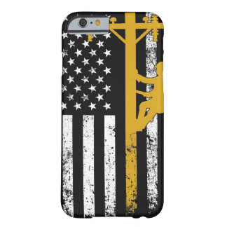 Capa Barely There Para iPhone 6 Amarelo do exemplo do lineman