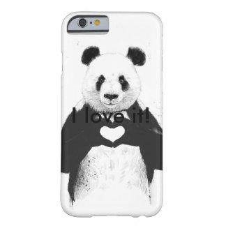 Capa Barely There Para iPhone 6 Amor da panda