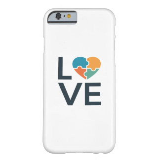 Capa Barely There Para iPhone 6 Amor do autismo