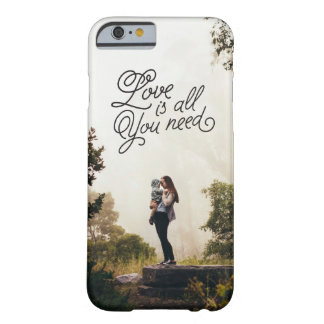 Capa Barely There Para iPhone 6 Amor no ar