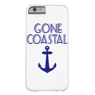 Capa Barely There Para iPhone 6 Âncora litoral ida dos azuis marinhos