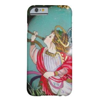 Capa Barely There Para iPhone 6 Anjo do Natal - arte do Natal - decorações do anjo