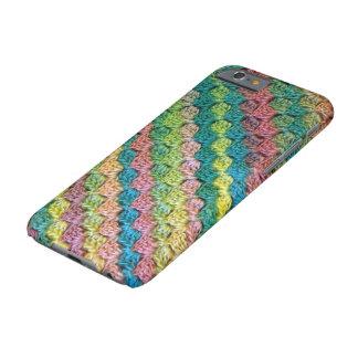 Capa Barely There Para iPhone 6 Arco-íris do Crochet c2c