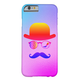 Capa Barely There Para iPhone 6 Arco-íris dos bigodes do Womanizer do lobo do