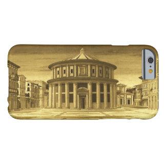 Capa Barely There Para iPhone 6 Arquiteto IDEAL do renascimento da CIDADE, amarelo