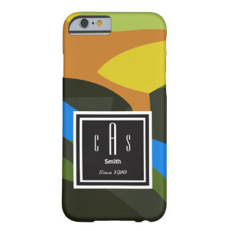 Capa Barely There Para iPhone 6 Arte abstracta