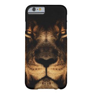 Capa Barely There Para iPhone 6 Arte africana da cara do leão