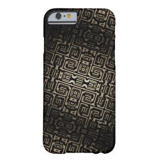"""Capa Barely There Para iPhone 6 Arte feita sob encomenda """"simbólica"""" do fractal"""