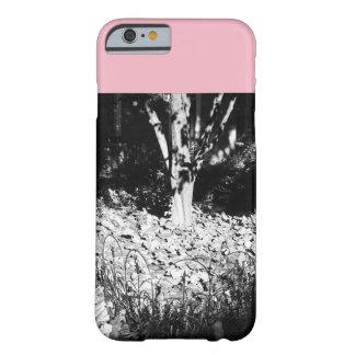 Capa Barely There Para iPhone 6 Árvore cor-de-rosa e cinzenta