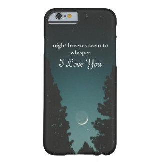 Capa Barely There Para iPhone 6 As brisas de noite parecem sussurrar…