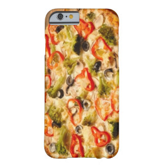 Capa Barely There Para iPhone 6 Ascendente próximo da pizza