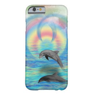Capa Barely There Para iPhone 6 Ascensão do golfinho