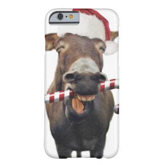 Capa Barely There Para iPhone 6 Asno do Natal - asno do papai noel - papai noel do