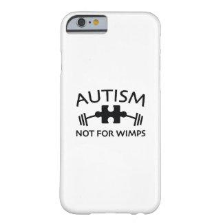 Capa Barely There Para iPhone 6 Autismo não para Wimps
