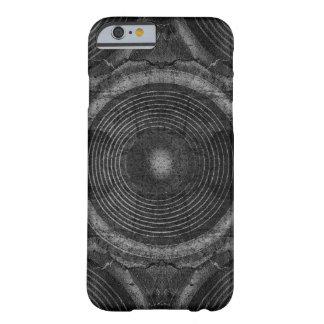 Capa Barely There Para iPhone 6 Auto-falante preto e branco da música