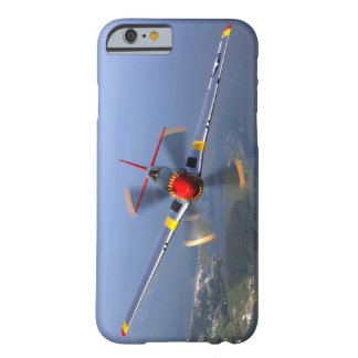 Capa Barely There Para iPhone 6 Aviões de lutador do mustang P-51