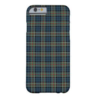 Capa Barely There Para iPhone 6 Azuis marinhos do clã de Calhoun, verde, e Tartan
