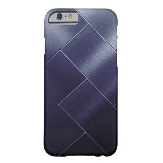 Capa Barely There Para iPhone 6 Azulejo cinzento Vip de Ombre do marinho azul do