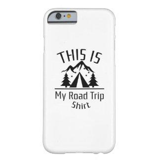 Capa Barely There Para iPhone 6 backpacking - esta é minha viagem por estrada
