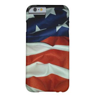 Capa Barely There Para iPhone 6 Bandeira americana de voo