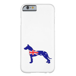 Capa Barely There Para iPhone 6 Bandeira australiana - great dane