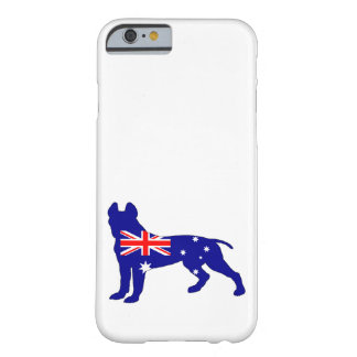 Capa Barely There Para iPhone 6 Bandeira australiana - pitbull Terrier