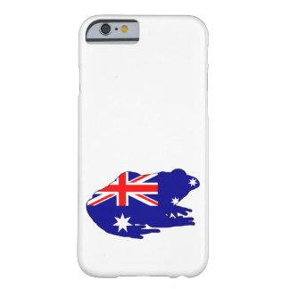 Capa Barely There Para iPhone 6 Bandeira australiana - sapo