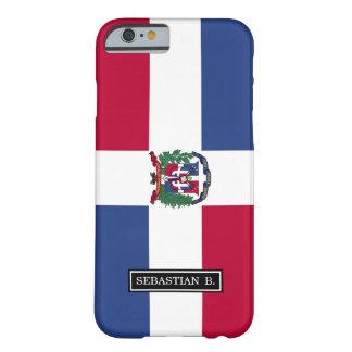 Capa Barely There Para iPhone 6 Bandeira da República Dominicana
