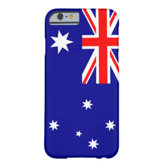 Capa Barely There Para iPhone 6 Bandeira de Austrália