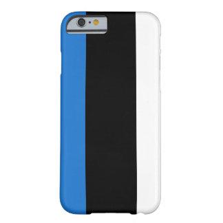 Capa Barely There Para iPhone 6 Bandeira de Estónia
