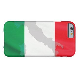 Capa Barely There Para iPhone 6 bandeira e Italia italianas